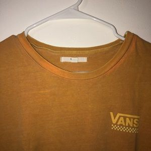 Orange vans t-shirt
